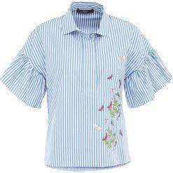 WEEKEND MaxMara EZIANA Bluzka lichtblau. Niebieskie bluzki damskie WEEKEND MaxMara, z bawełny. W wyprzedaży za 374,50 zł.
