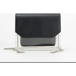 Transparentna torebka - Czarny. Czarne torebki klasyczne damskie Reserved. Za 89,99 zł.