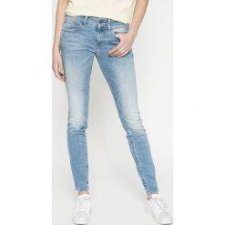 G-Star Raw - Jeansy Lynn Mid Skinny Wmn. Niebieskie jeansy damskie rurki marki G-Star RAW, z bawełny. W wyprzedaży za 399,90 zł.