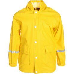 Outburst UNI Kurtka przeciwdeszczowa yellow. Żółte kurtki chłopięce przeciwdeszczowe Outburst, z materiału. Za 149,00 zł.
