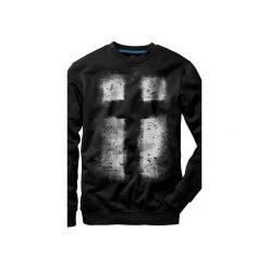 Bluza UNDERWORLD casual Krzyż. Szare bluzy męskie rozpinane marki Underworld, m, z nadrukiem, z bawełny. Za 119,99 zł.