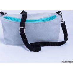 Mini torebka Nerka 2W1 Pastelowe. Szare torebki klasyczne damskie Pakamera, z tkaniny. Za 85,00 zł.