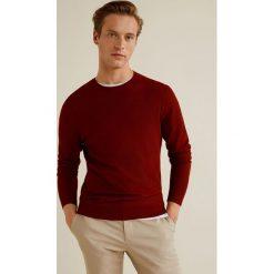 Mango Man - Sweter Julen. Szare swetry klasyczne męskie marki Mango Man, l, z dzianiny, z okrągłym kołnierzem. W wyprzedaży za 89,90 zł.