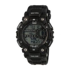 Biżuteria i zegarki męskie: Zegarek Q&Q Męski M161-003 Dual Time