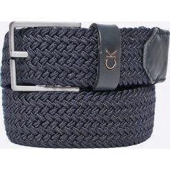 Calvin Klein Jeans - Pasek. Szare paski męskie Calvin Klein Jeans, w paski, z bawełny. W wyprzedaży za 129,90 zł.