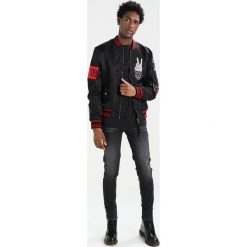 Jeansy męskie regular: Tigha ROBIN Jeans Skinny Fit vintage black