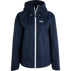 Jack Wolfskin NORTH RIDGE  Kurtka hardshell night blue. Niebieskie kurtki sportowe damskie marki Jack Wolfskin, xl, z hardshellu. W wyprzedaży za 461,30 zł.