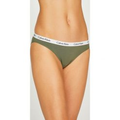 Calvin Klein Underwear - Figi (3-pack). Różowe figi marki Calvin Klein Underwear, l, z dzianiny. W wyprzedaży za 149,90 zł.