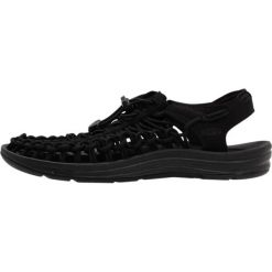 Keen UNEEK Sandały trekkingowe black/black. Czarne buty trekkingowe damskie marki Keen. Za 399,00 zł.