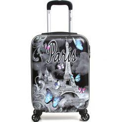 """Walizki: Walizka """"Papillon"""" w kolorze czarnym – 35 kg x 53 kg x 20 cm"""