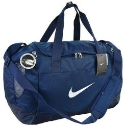 Torby podróżne: Nike Torba sportowa BA5193 410 Club Team Swoosh Duffel M granatowa