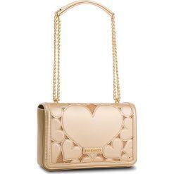 Torebka LOVE MOSCHINO - JC4046PP15LE000A Oro. Żółte torebki klasyczne damskie marki Love Moschino, ze skóry ekologicznej, duże. W wyprzedaży za 669,00 zł.