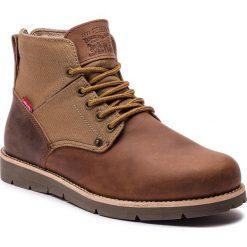 Kozaki LEVI'S - 225129-884-28 Brown. Brązowe buty zimowe męskie Levi's®, z materiału. W wyprzedaży za 289,00 zł.