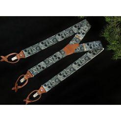 Szelki Ranger dwa typy zapięć w jednym. Czarne szelki męskie marki Pakamera. Za 155,00 zł.
