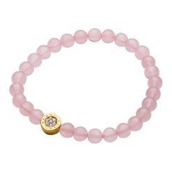 Bransoletki damskie: Bransoletka w kolorze różowym