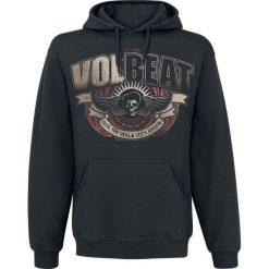 Bejsbolówki męskie: Volbeat King Bluza z kapturem czarny