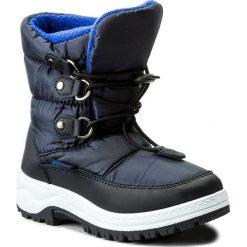 Buty zimowe chłopięce: Śniegowce ACTION BOY – CYL6019A-3 Granatowy