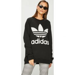 Adidas Originals - Bluza. Czarne bluzy rozpinane damskie adidas Originals. W wyprzedaży za 259,90 zł.