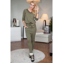 Bluzy damskie: Komplet bluza + spodnie khaki