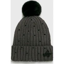 Viking - Czapka Blink. Czarne czapki zimowe damskie marki Viking, na zimę, z dzianiny. Za 99,90 zł.