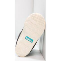 Native RANGER Śniegowce jiffy black/bone white. Czarne buty zimowe chłopięce Native, z materiału. W wyprzedaży za 169,50 zł.
