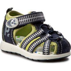 Sandały PRIMIGI - 7569300  Blu. Niebieskie sandały męskie skórzane marki Primigi. W wyprzedaży za 139,00 zł.