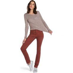 """Rurki damskie: Spodnie """"Amber"""" w kolorze czerwonym"""