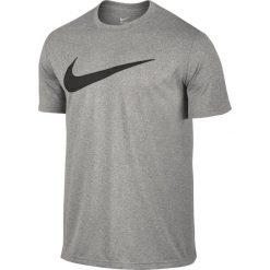 Nike Koszulka męska Legend Mesh Swoosh Tee szara r. M (821833 063). Szare koszulki sportowe męskie marki Nike, m, z meshu. Za 96,67 zł.