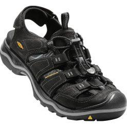 Sandały męskie: Keen Sandały męskie Rialto Black/Gargoyle r. 47 (1014676-13)