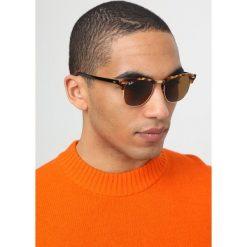 RayBan CLUBMASTER Okulary przeciwsłoneczne brown. Brązowe okulary przeciwsłoneczne damskie aviatory Ray-Ban. Za 619,00 zł.