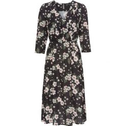Sukienki: Sukienka w kwiaty bonprix czarny z nadrukiem