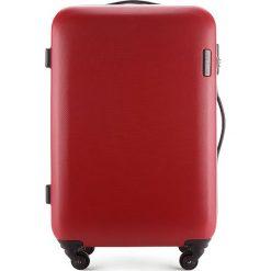 Walizka średnia 56-3-612-30. Czerwone walizki marki Wittchen, z gumy, średnie. Za 249,00 zł.