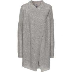 Sweter rozpinany bonprix jasnoszary melanż. Szare kardigany damskie marki bonprix. Za 59,99 zł.