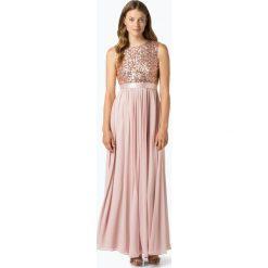 Marie Lund - Damska sukienka wieczorowa, pomarańczowy. Brązowe sukienki balowe Marie Lund, z satyny. Za 449,95 zł.
