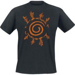 T-shirty męskie z nadrukiem: Naruto Shippuden - Seal T-Shirt czarny