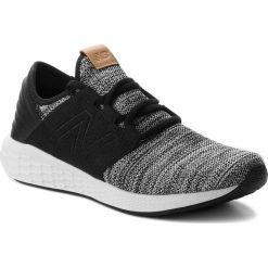 Buty NEW BALANCE - MCRUZKW2  Biały Czarny. Białe buty do biegania męskie New Balance, z materiału. W wyprzedaży za 269,00 zł.
