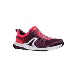 Buty damskie do chodu sportowego PW 240 w kolorze fioletowo-różowym. Czarne buty do fitnessu damskie marki Adidas, z kauczuku. Za 129,99 zł.