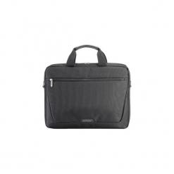 """Sumdex Torba na notebooka 15.6"""" (czarny). Czarne torby na laptopa Sumdex, w paski, z materiału. Za 49,06 zł."""