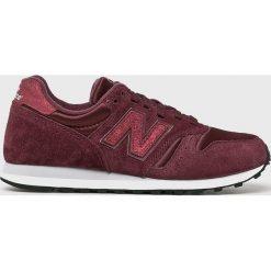 New Balance - Buty WL373BSP. Brązowe buty sportowe damskie New Balance, z materiału. W wyprzedaży za 259,90 zł.