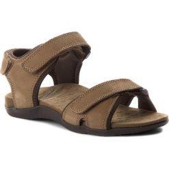 Sandały SCHOLL - Barwon F26202 1019 400 Dk Brown. Brązowe sandały męskie skórzane Scholl. W wyprzedaży za 239,00 zł.