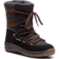 Śniegowce MANITU - 991263 Schwarz 1. Czarne buty zimowe damskie Manitu, z materiału. Za 329,00 zł.