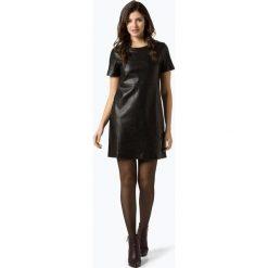 Opus - Sukienka damska – Wasine, czarny. Czarne sukienki balowe Opus, na spotkanie biznesowe, z materiału. Za 369,95 zł.