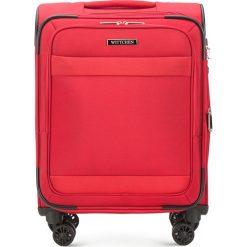 Walizka kabinowa 56-3S-581-30. Czerwone walizki marki Wittchen, małe. Za 349,00 zł.