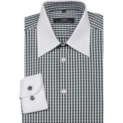 Koszula ARMANDO slim 13-10-23. Czarne koszule męskie na spinki marki Cropp, l. Za 229,00 zł.