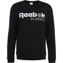 Bejsbolówki męskie: Reebok Classic ICONIC CREWNECK Bluza black