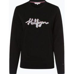Tommy Hilfiger - Damska bluza nierozpinana, czarny. Czarne bluzy z nadrukiem damskie marki TOMMY HILFIGER, l. Za 399,95 zł.