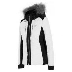 4F Damska Kurtka Narciarska H4Z17 kudn009 Biały S. Białe kurtki damskie narciarskie marki 4f, na zimę, s. W wyprzedaży za 549,00 zł.