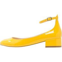 Czółenka: Even&Odd VEGAN Czółenka yellow