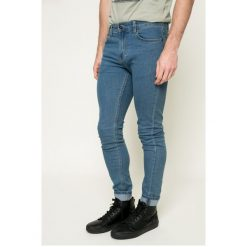 Only & Sons - Jeansy. Niebieskie jeansy męskie skinny Only & Sons, z bawełny. W wyprzedaży za 59,90 zł.