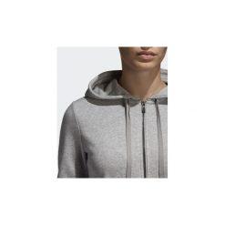 Bluzy dresowe adidas  Bluza z kapturem Essentials Linear. Białe bluzy z kapturem damskie marki Adidas, m. Za 229,00 zł.